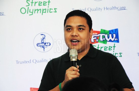 Barry Barrientos, Project Lead, Unilab Fit To Win, Corporate Affairs Manager, UNILAB.