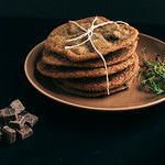 Thyme &amp; Salted Chocolate Chunk Cookies