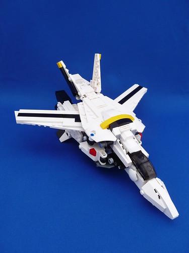 VF-1S Valkyrie Skull Leader Fighter Mode