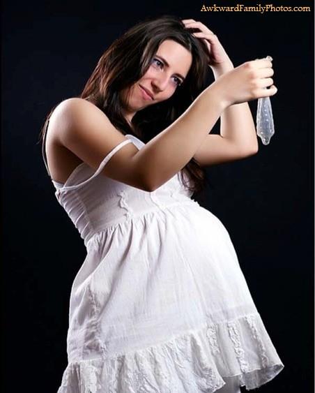 Até fotos de grávidas tem de ter limites