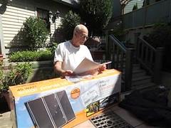 Harbor Freight Solar Kit (4)