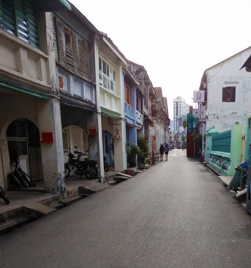 The so charming Armenian street, George Town - Penang