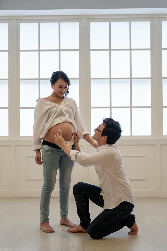 孕婦寫真,台北,個人寫真,婚攝雲憲,法鬥攝影棚FarDog Studio