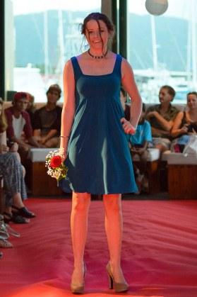 Empire Dress with Square Neckline (Bridal Edition)
