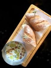 Almond Soup, Bar Oso, Whistler