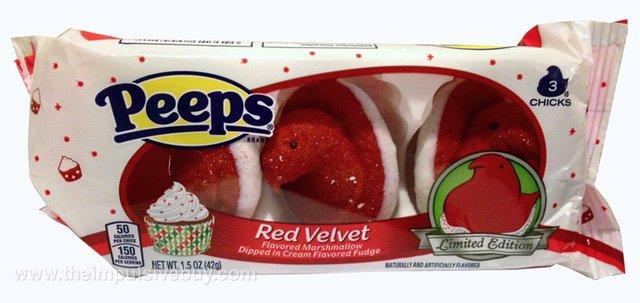 Limited Edition Red Velvet Peeps