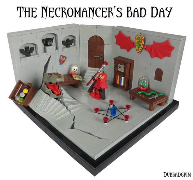 CCCXII - The Necromancer's Bad Day