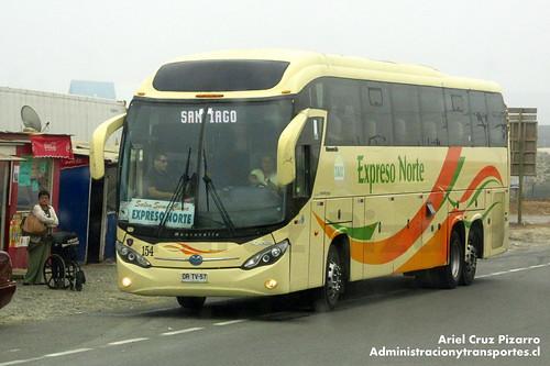 TACC Expreso Norte - Los Vilos - Mascarello Roma 370 / Scania (DRTV57)