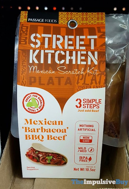 Passage Foods Street Kitchen Barbacoa BBQ Beef Mexican Scratch Kit