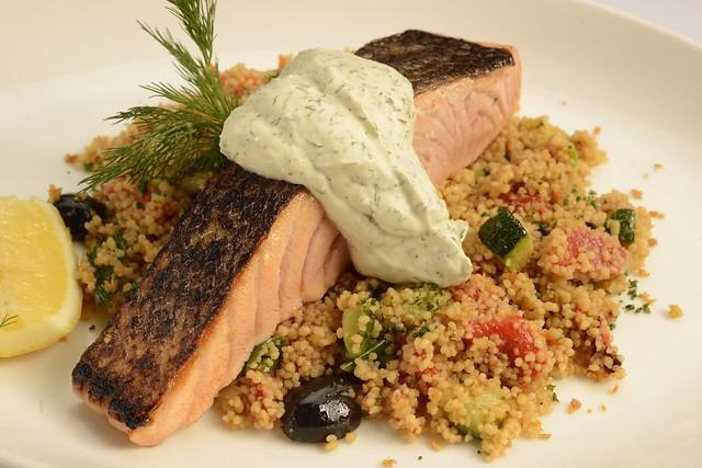 Grilled Marinated Norwegian Salmon