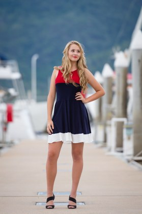 Siren Dress | Nautical Collection