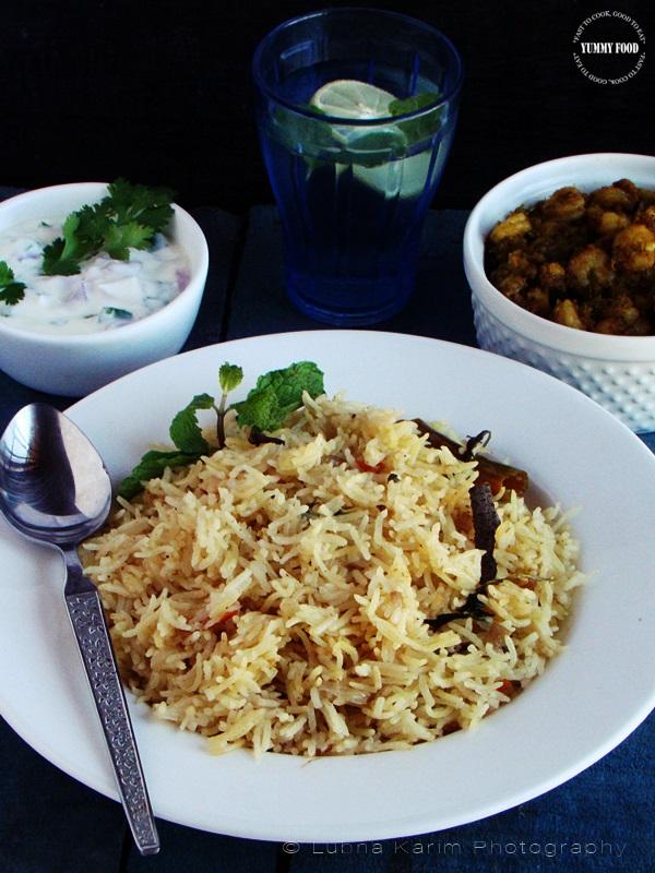 Bagarae Chawal/Bagara Khana – Hyderabad Style