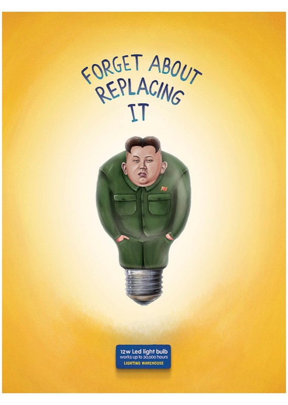Lighting Warehouse Led Light Bulb - Kim Jong-Un