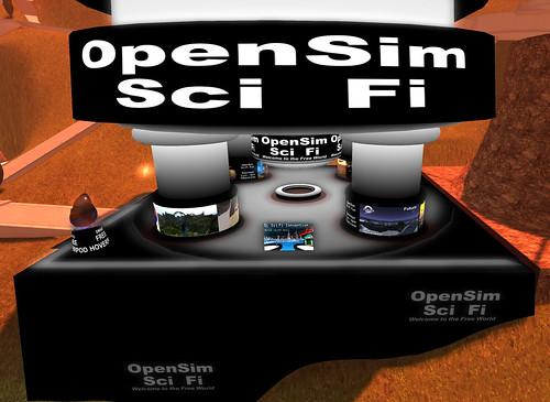 Opensim Scifi