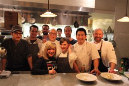 Kitchen Crew for Chefs Week PDX dinner at St. Jack, PDX