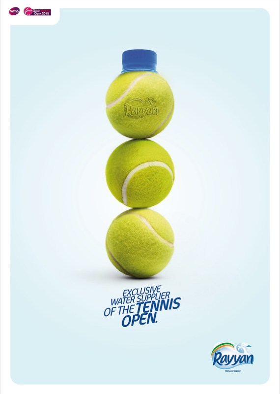 RAYYAN WATER sponsor tennis DEF ENGLISH