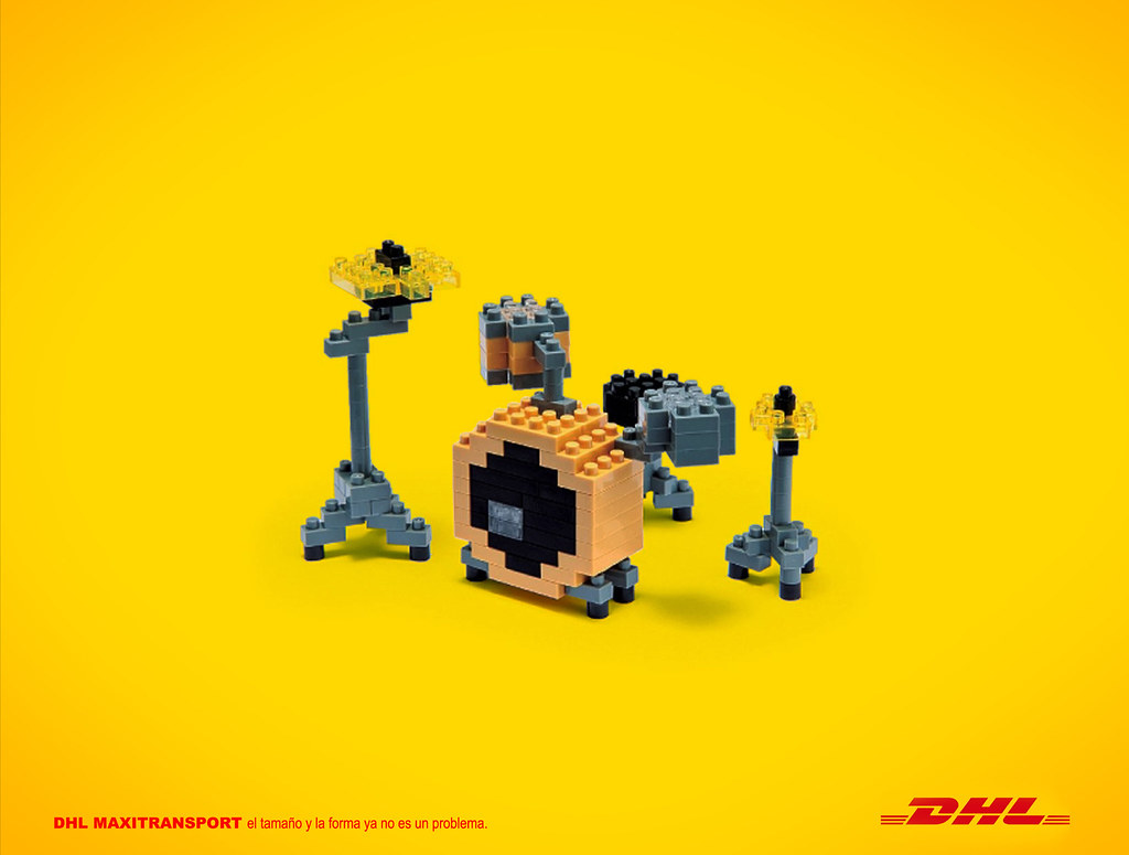 DHL Maxitransport - Lego 1