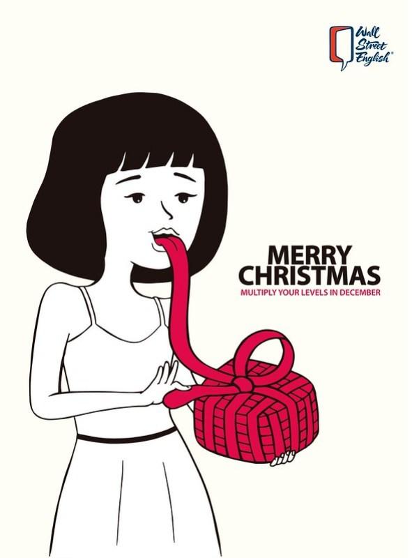 Wall Street English - Merry Christmas Girl