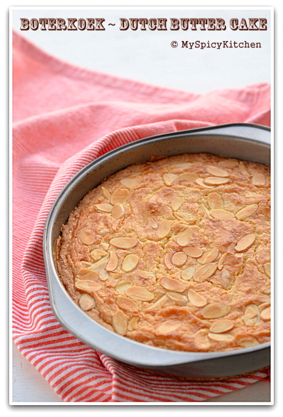 Dutch Butter Cake, Boterkoek, Bake-a-thon,