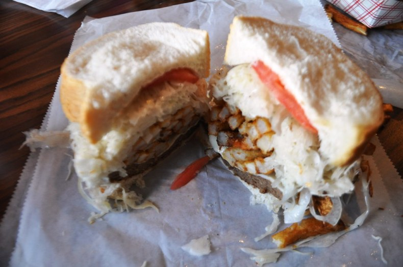 Primanti Brothers' No. 2 best seller - the Pitts-burger. What's No. 1? Beer.