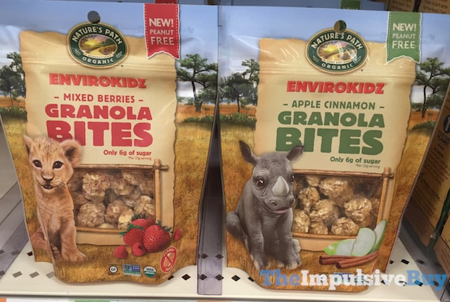 Nature's Path Envirokidz Granola Bites (Mixed Berries and Apple Cinnamon)