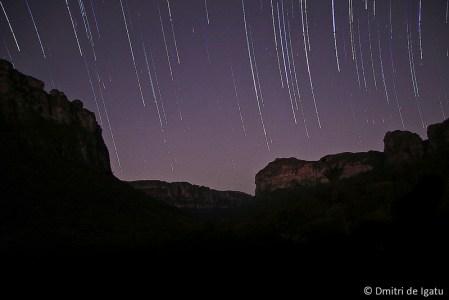 Star Trail Vale do Pati