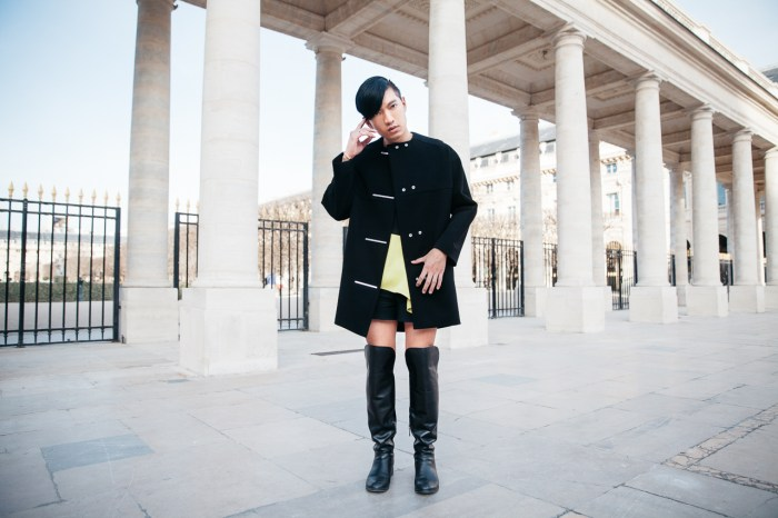 Bryanboy at Palais Royal in Paris