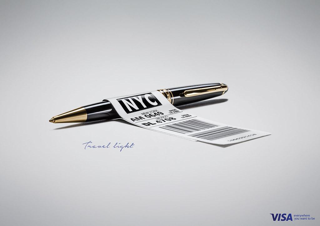 VISA Credit - Pen
