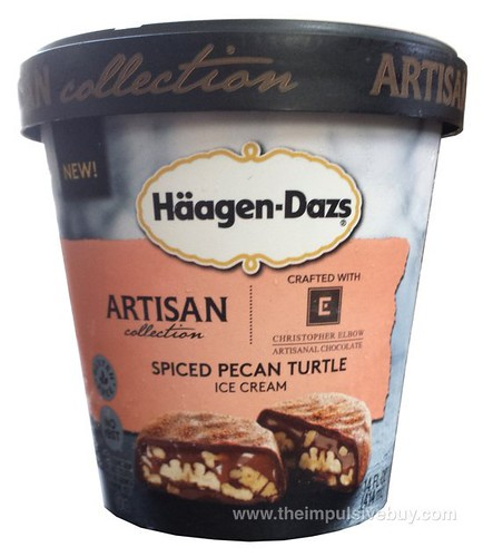 Haagen-Dazs Artisan Collection Spiced Pecan Turtle Ice Cream