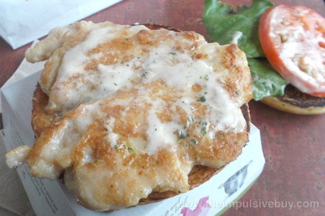 McDonald's Artisan Grilled Chicken Sandwich 3