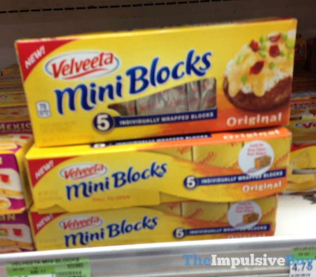 Velveeta Original Mini Blocks