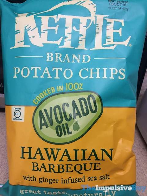 Kettle Brand Avocado Oil Hawaiian Barbecue Potato Chips
