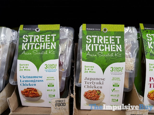 Passage Foods Street Kitchen Asian Scratch Kit (Vietnamese Lemongrass Chicken and Japanese Teriyaki Chicken)