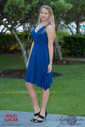 Wrapsody Dress | Cobalt Blue