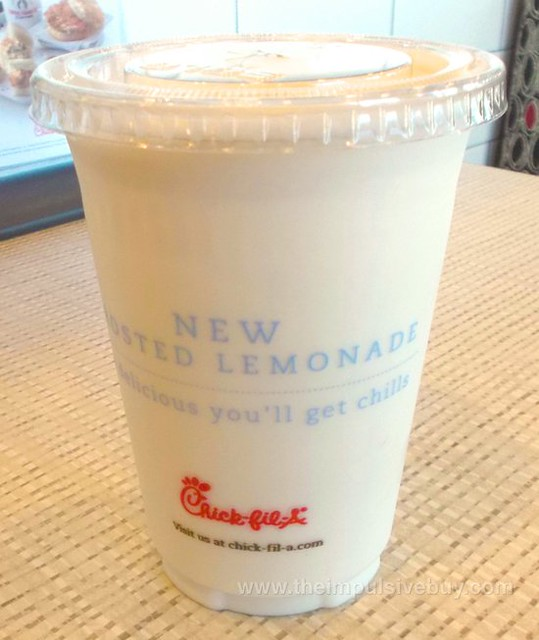 Chick-fil-A Diet Frosted Lemonade