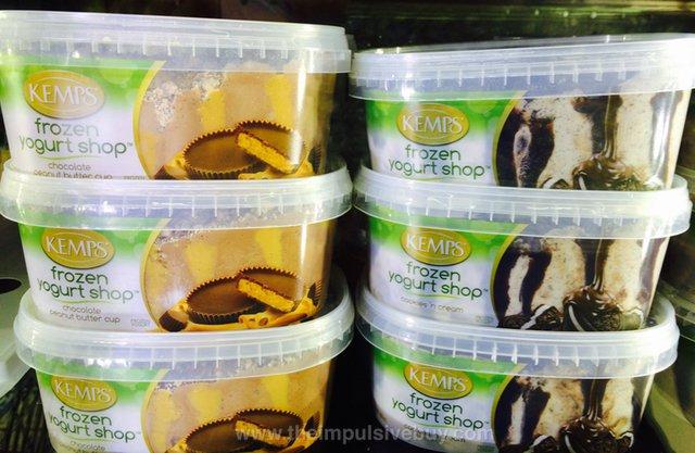 Kemps Frozen Yogurt Shop (Chocolate Peanut Butter Cup and Cookies 'n Cream)
