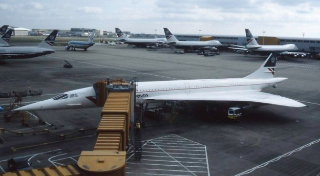 British Airways Concorde - Heathrow around 1991