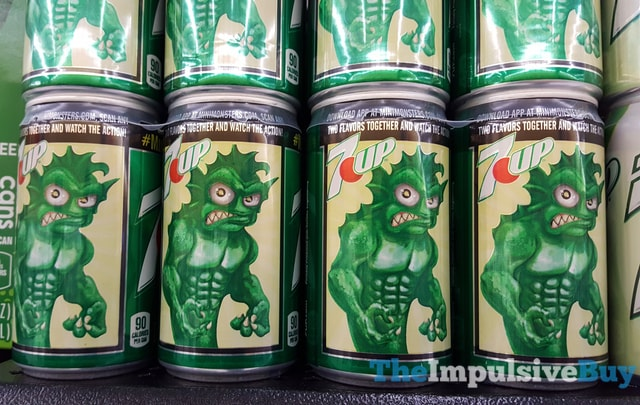 7Up Monster Cans
