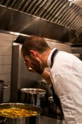 Tasting the bouillabaisse
