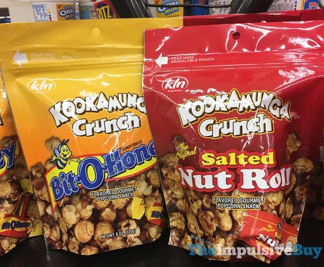 Kookamunga Crunch (Bit-O-Honey and Salted Nut Roll)