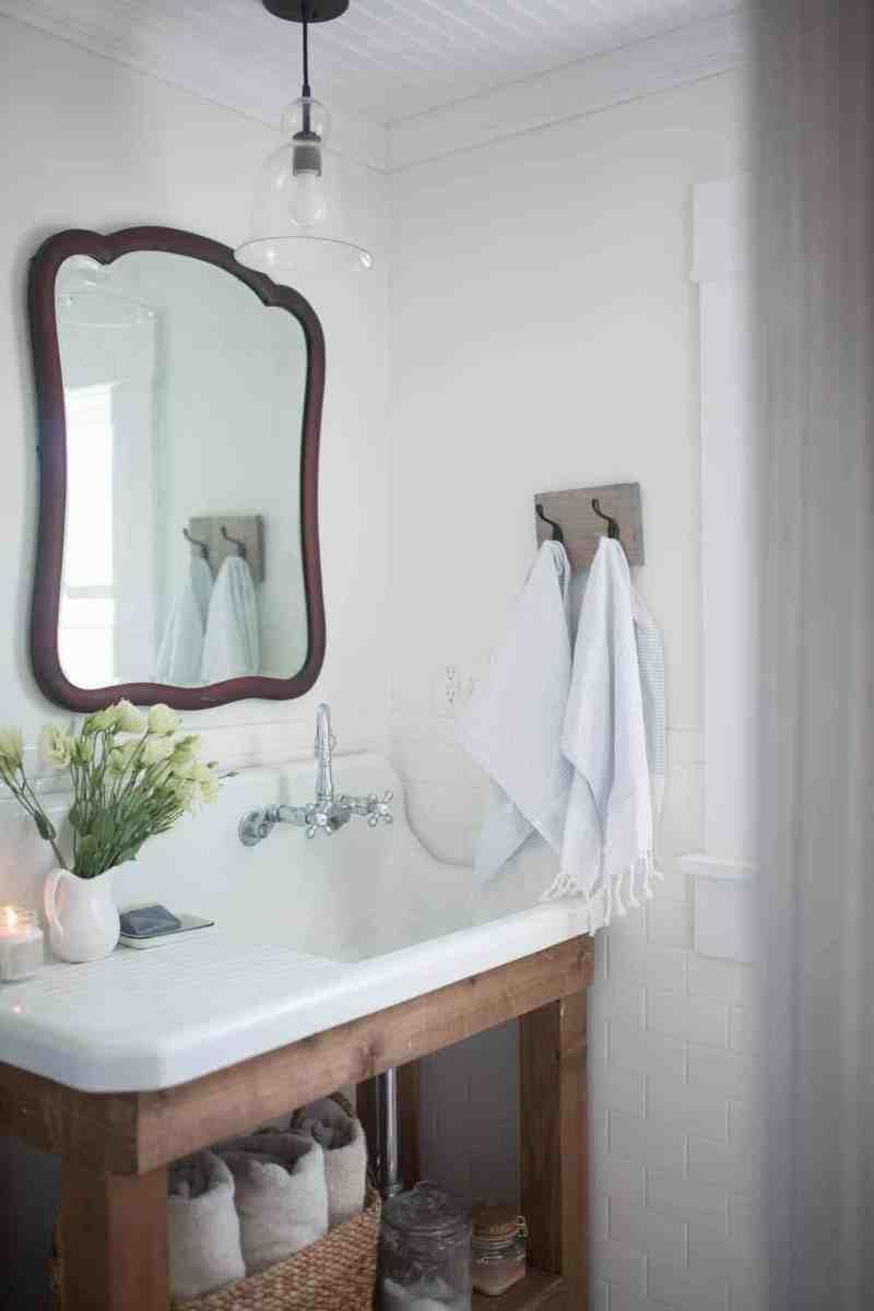 Large Of Farmhouse Bathroom Decor
