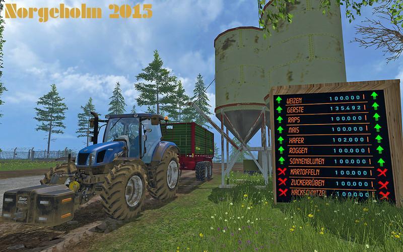 Farming Simulator 15 Подсолнух