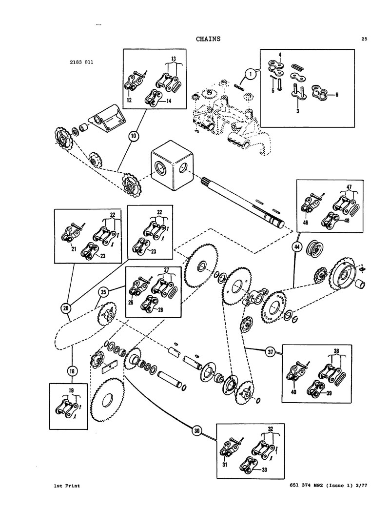 Massey ferguson 120 124 126 128 and 130 baler parts manual