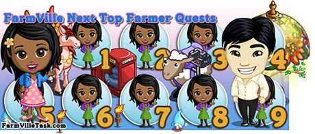 FarmVille The Next Top Farmer Quests