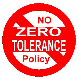 no zero policy