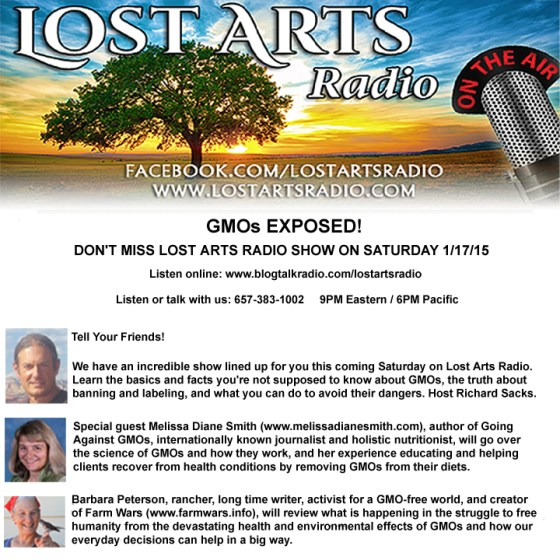Lost Arts Radio 1 17