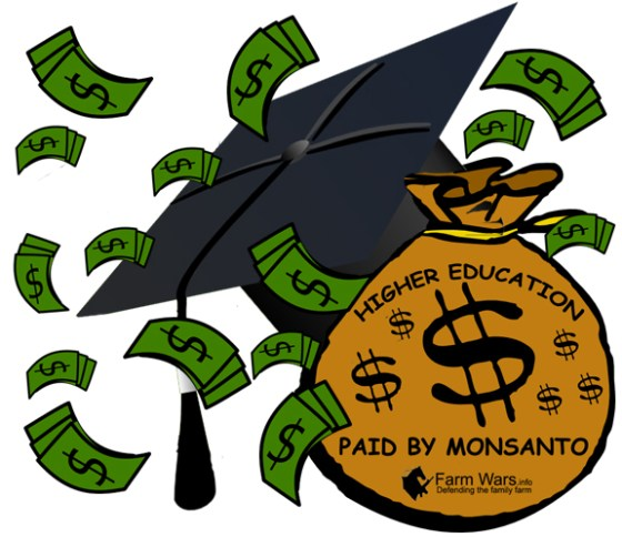 Paid by Monsanto