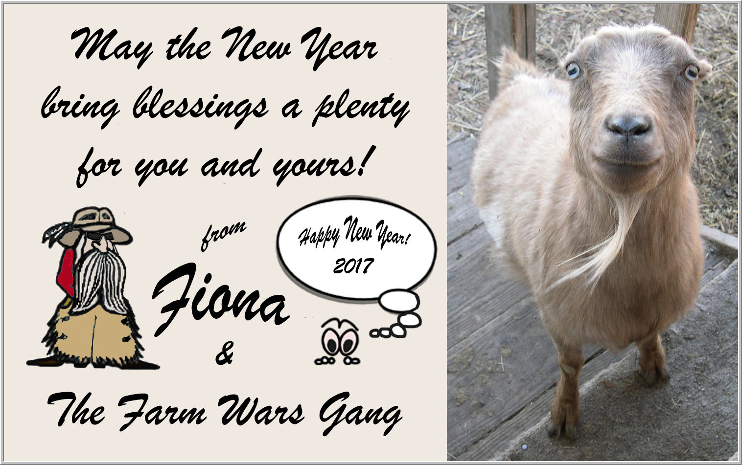 Blessings for the New Year - Here\'s a Calendar! | Farm Wars