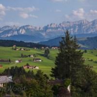 A walk through Teufen, Switzerland