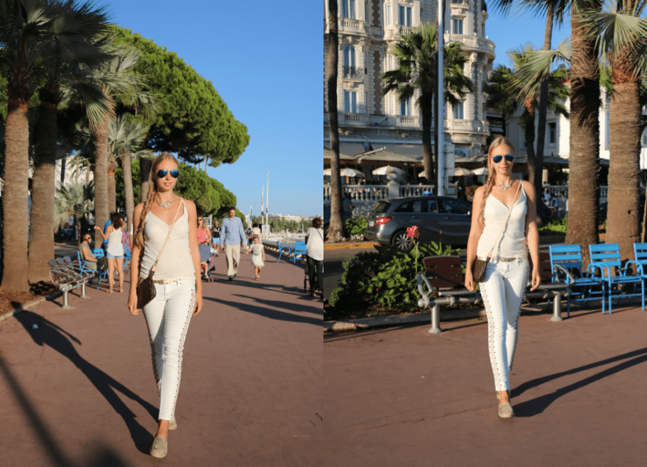 Walking around Cannes